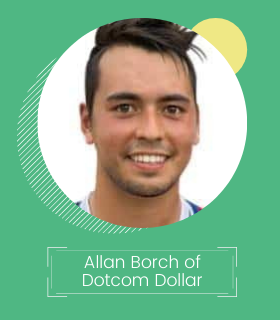 Allan Borch founder of Dotcom Dollar