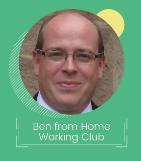 Ben Taylor from Home Working Club