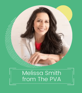 Melissa Smith from The PVA