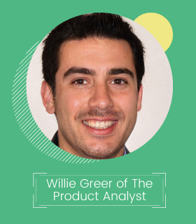 Willie Greer Founder of The Product Analyst