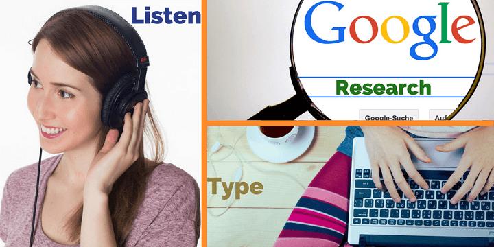 listen research type