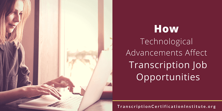 transcription job opportunities
