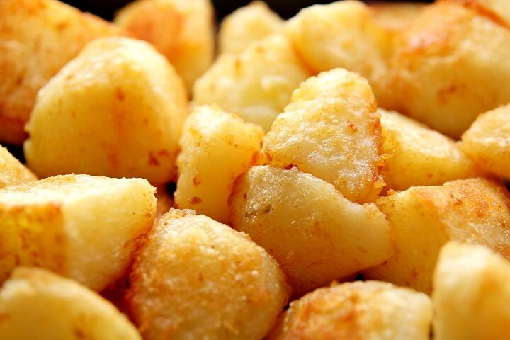 Low-fat Roast Potatoes