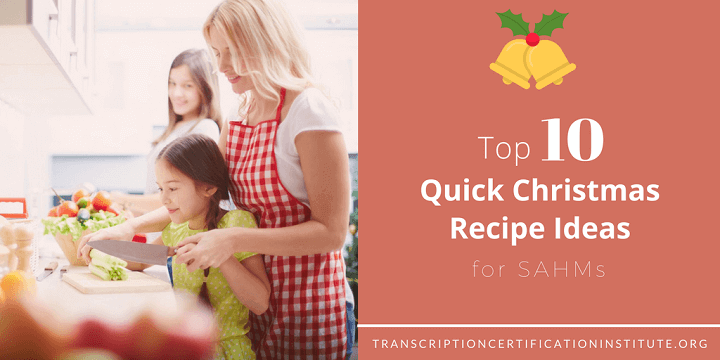 quick Christmas recipes