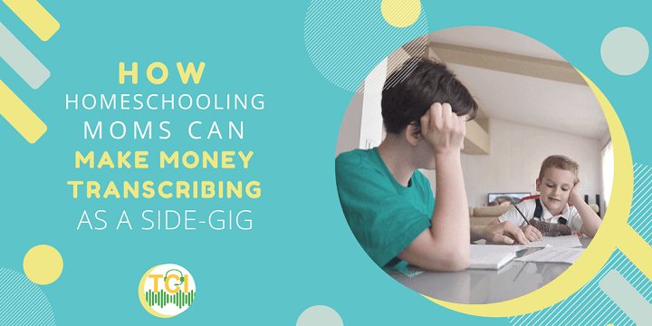 homeschooling moms work from home