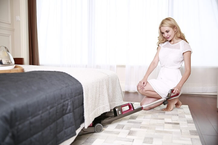 Create a Regular Spring Cleaning Schedule- Vacuuming and Dusting