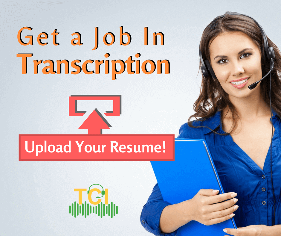 get a transcription job