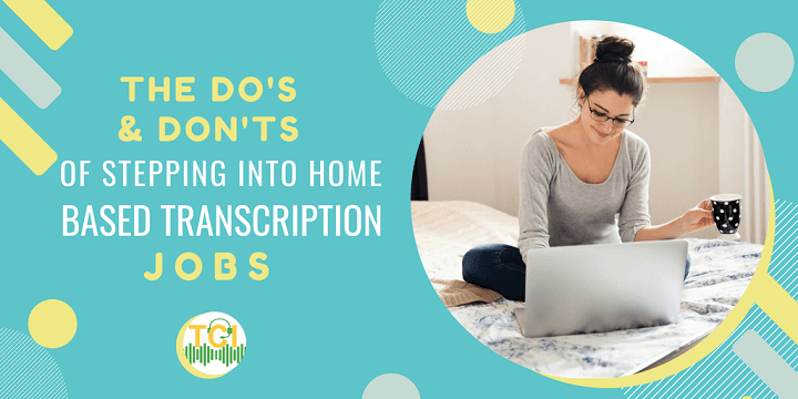 find home-based transcription jobs
