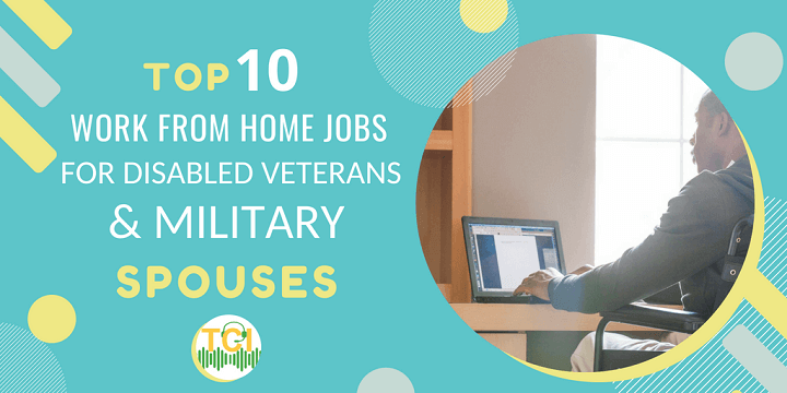 work from home jobs for disabled veterans