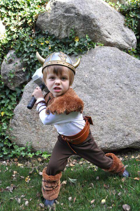 10. Mini Viking Costume for Halloween