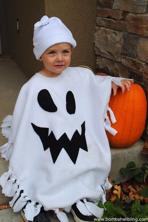 26. Ghost Costume for Halloween is Classic