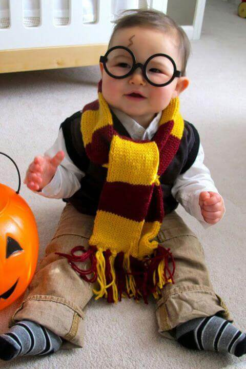 7. Harry Potter Themed Halloween Costume for Toddlers