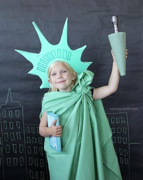 9. Statue of Liberty Costume for Halloween