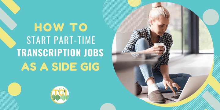 part-time transcription jobs